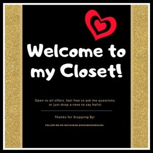 Welcome to my closet! ❤️❤️